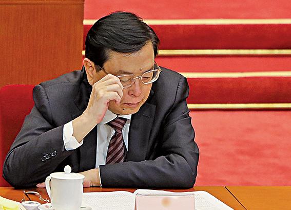 江派政治局常委張德江,早前多次針對特首選舉發表「中央實質任命權」、「更高標準選特首」等論調。