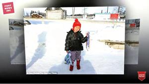 俄四歲女娃為救奶奶冰天雪地摸黑走五哩