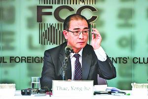 太永浩:恐摧毀金正恩政權