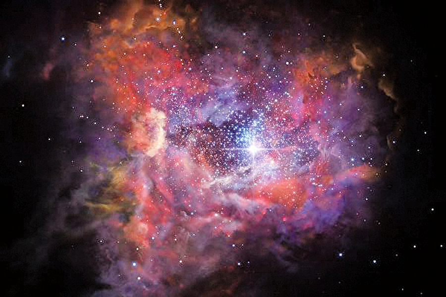 人類發現最古老星系 其中早已大爆炸