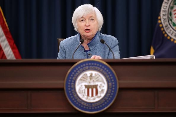 美聯儲3月決定加息四分一厘,是自2006年6月以來的第三次加息。(Chip Somodevilla/Getty Images)