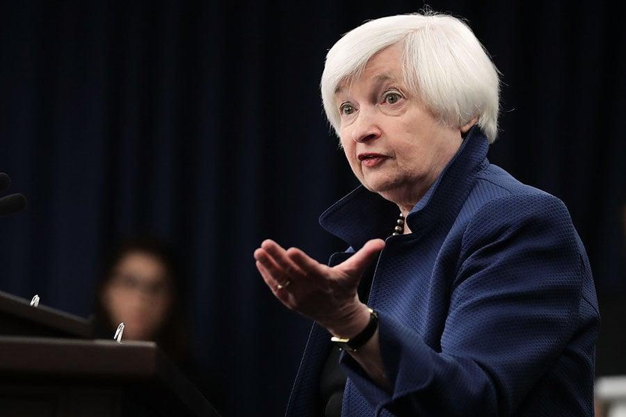 經濟好轉有信心 耶倫:跳槽時機到來了