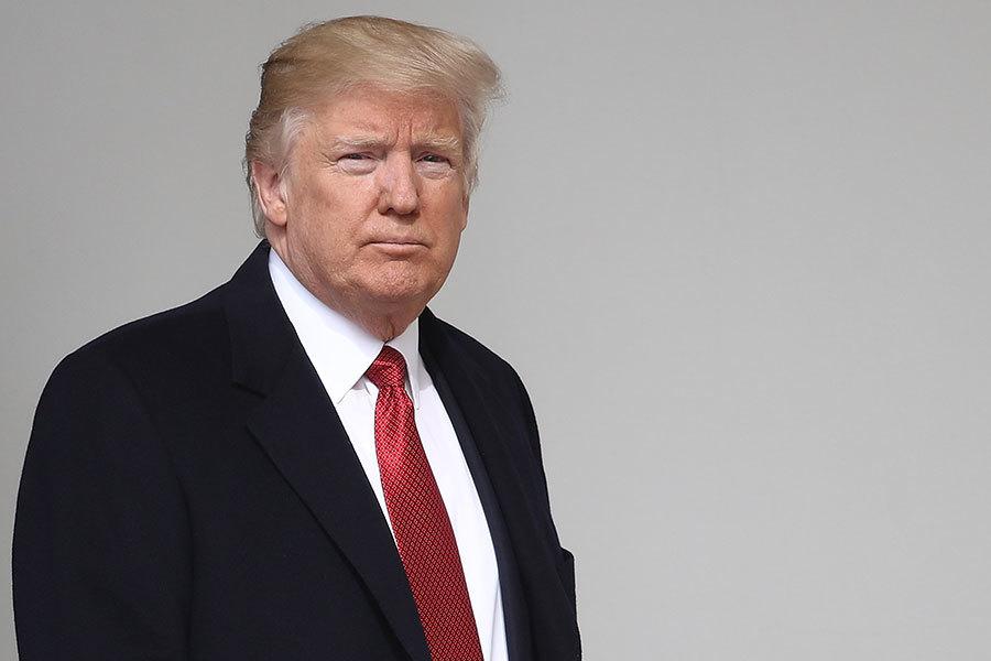 特朗普周四(16日)公佈了總額為1.15兆美元的2018財政年度聯邦預算提案。(Win McNamee/Getty Images)