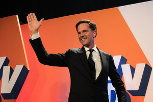 荷蘭親歐執政黨獲勝 歐盟樂見大選結果