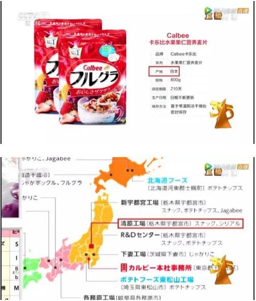 央視「3.15」晚會曝光日本核污染食品,卻遭涉事公司揭底。(網絡圖片)