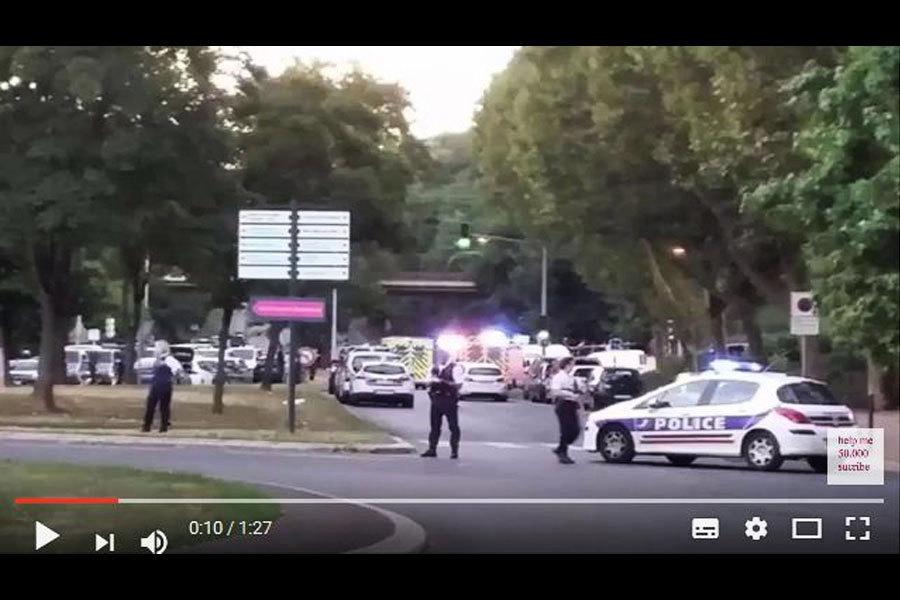 法國高中爆槍擊案八傷 疑犯持手榴彈
