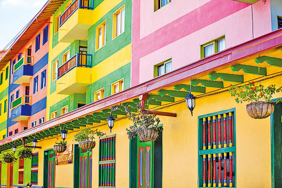 瓜塔佩以色彩鮮豔的建築物著稱。