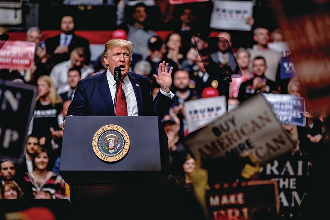 特朗普新版旅遊禁令再次被凍結,特朗表示:「為保護美國及國人的安全,我將抗爭到底。」 (Getty Images)