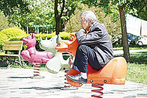 中國老齡化問題已越來越突出。(AFP)