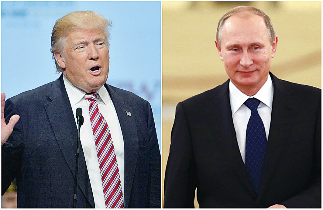 隨著美國新任總統特朗普的就任,世界格局或會發生新的變化,美國可能和俄羅斯連手,在全球範圍突然對中共發難。(大紀元資料室)