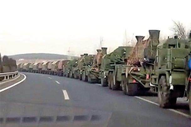 傳中共軍隊集結中朝邊境