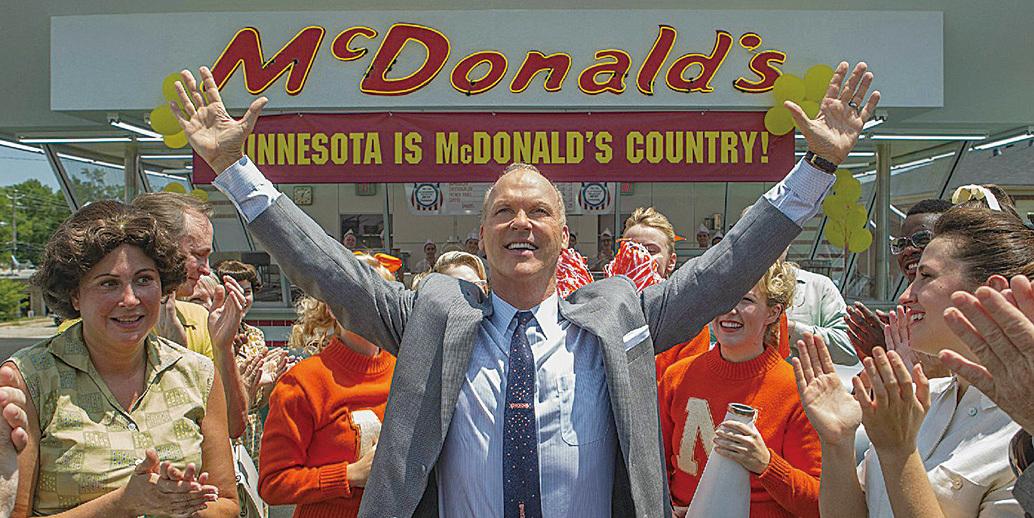 【新片速遞】《大創業家》(The Founder) 揭麥當勞創業秘辛 漢堡舞展創意