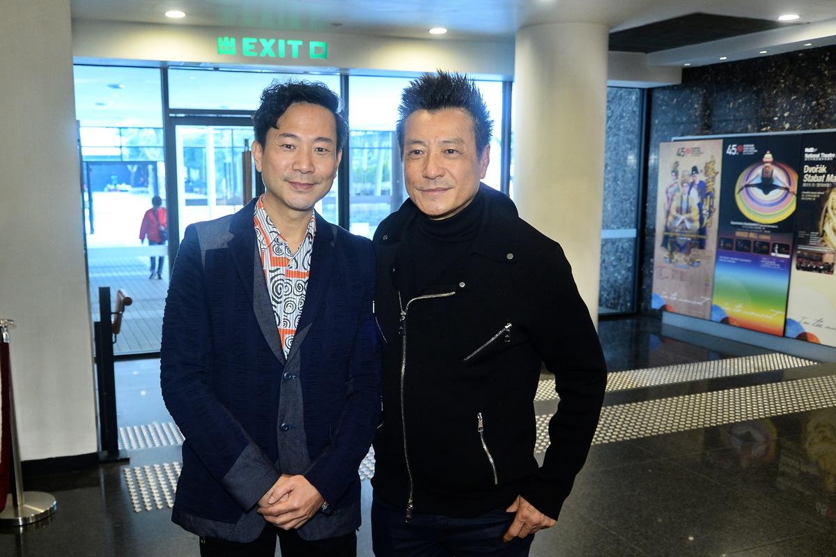 石修將首度跟香港話劇團合作,聯同陳國邦演出《紅梅再世》。(宋碧龍/大紀元