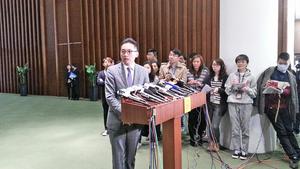 楊岳橋宣誓就職 感責任重大