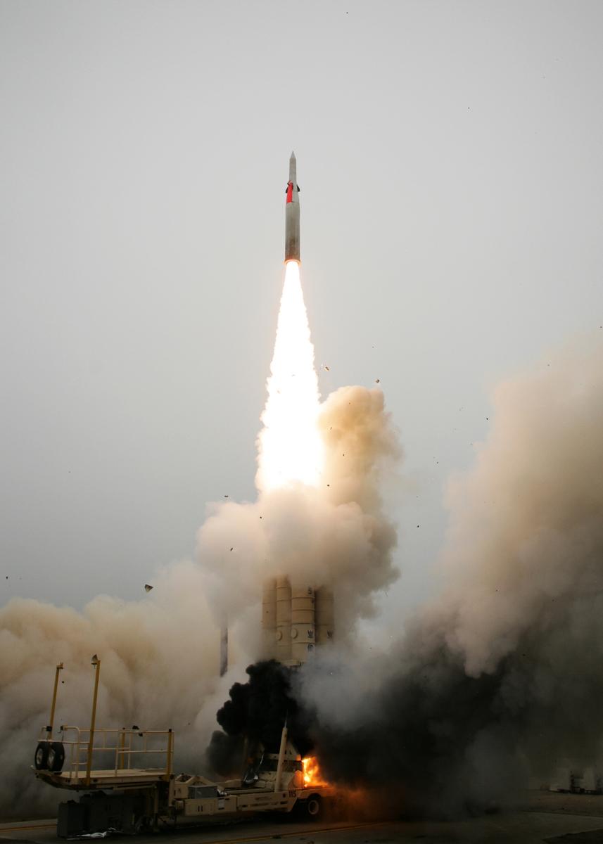 箭式導彈防禦系統。(維基百科)