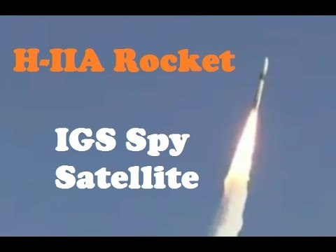日本發射新偵察衛星 監視北韓射彈動向