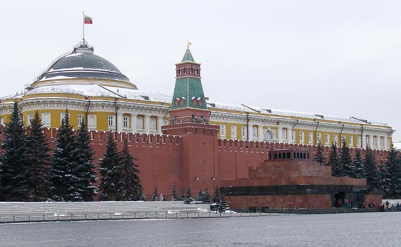 莫斯科紅場的列寧墓。(Wikicommons)