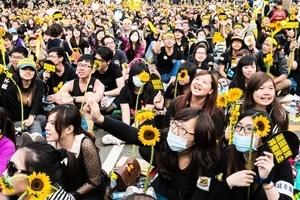太陽花學運三周年 台專家:永遠不走親共路線