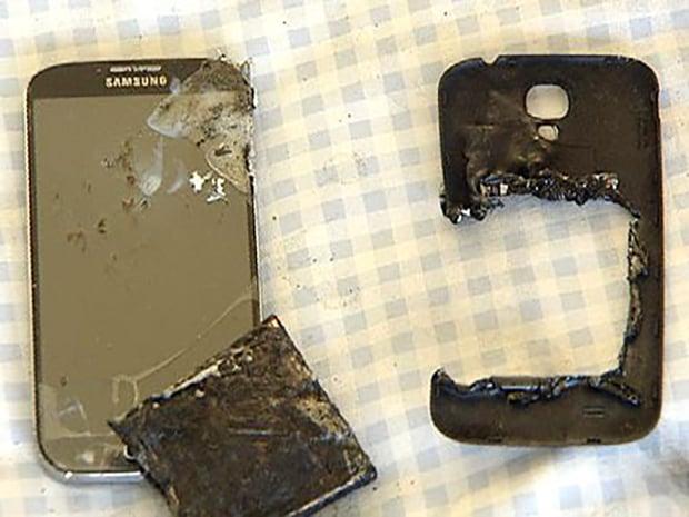 Galaxy S4手機爆炸 澳洲女學生二級燒傷
