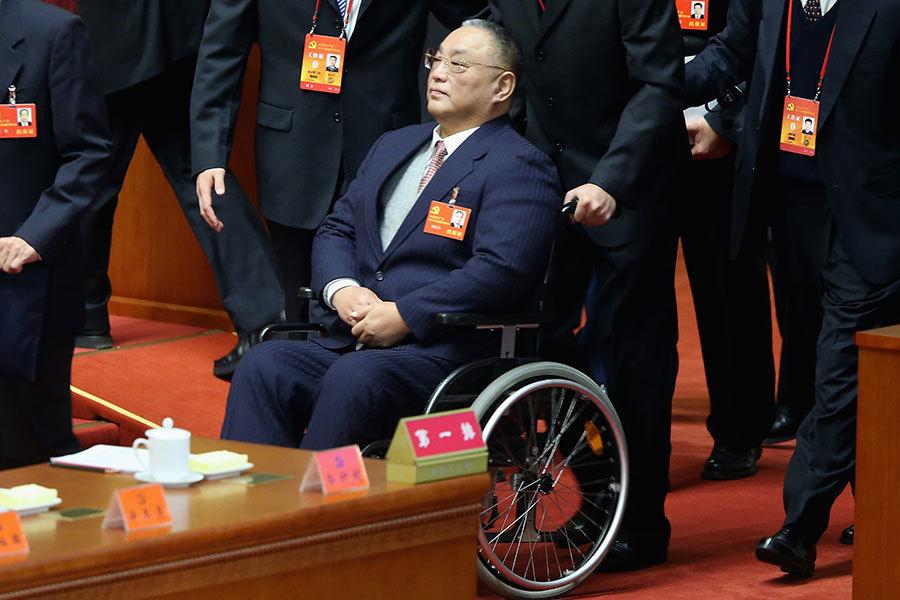 中共許多被打倒的高官們,其子女在成長的歲月中許多都留下了血色記憶。圖為鄧小平的長子鄧朴方2012年時的檔案照。(Feng Li/Getty Images)