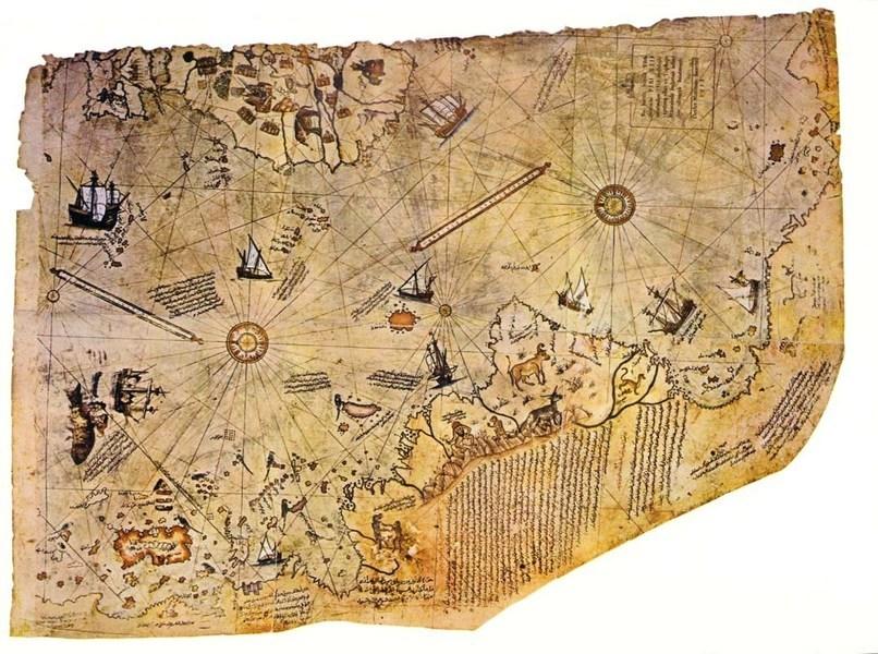兩張五百年前世界地圖 盡顯古文明之發達