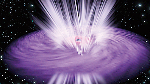 能量超級強黑洞颳出星際風