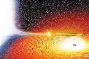 星體與黑洞「和平共處」天文學家難解原因