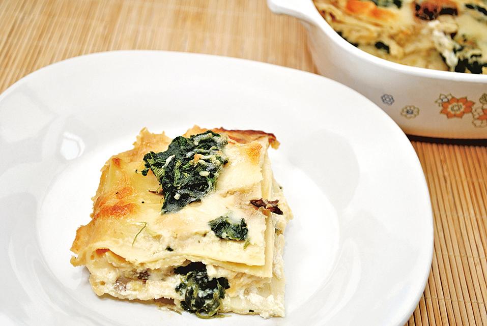 製作意大利千層麵(lasagnas),適合用乳清芝士(Ricotta)。