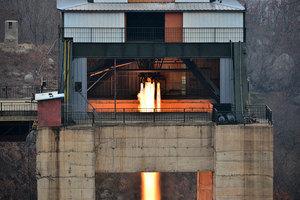蒂勒森訪北京之際 北韓高功率發動機點火測試