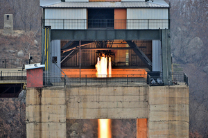北韓進行高功率發動機點火測試
