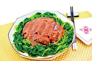 【梁廚美食】南乳芋頭扣肉