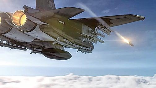 F-15鷹戰鬥機升級後,幾乎成為會飛的導彈庫。(波音影片截圖)
