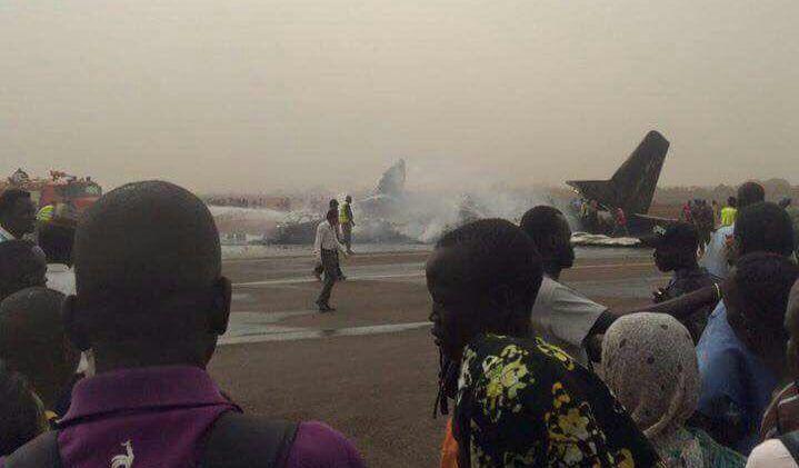 南蘇丹客機墜毀 四十四名乘客全部奇蹟生還