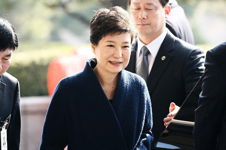 朴槿惠若被捕 恐淪第三位被關的前總統