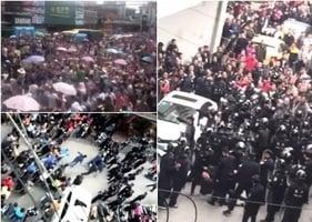 粵上萬民眾持續抗議建污染項目 警察鎮壓