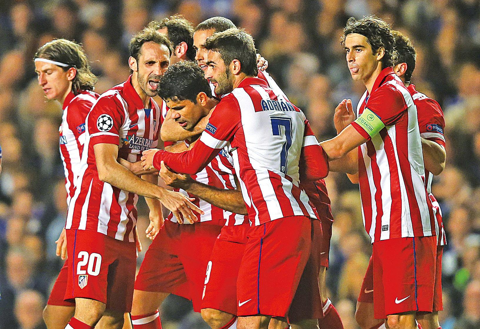 近日中共央行副行長批企業投資海外足球俱樂部項目是非理性和異常。圖為萬達入股的馬德里體育會。(Getty Images)