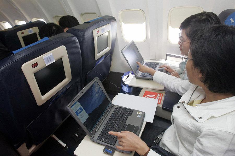 英國政府周二(3月21日)也宣佈,禁止從土耳其、中東及北非等6國直飛英國的航班乘客隨身攜帶超過一定大小的電子產品。(STR/AFP/Getty Images)