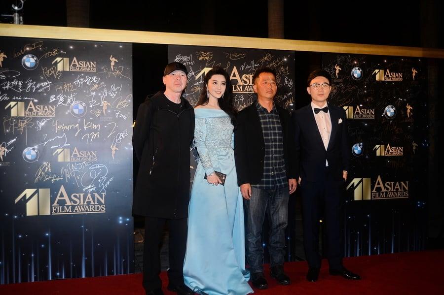 第十一屆亞洲電影大獎走過紅地毯的嘉賓