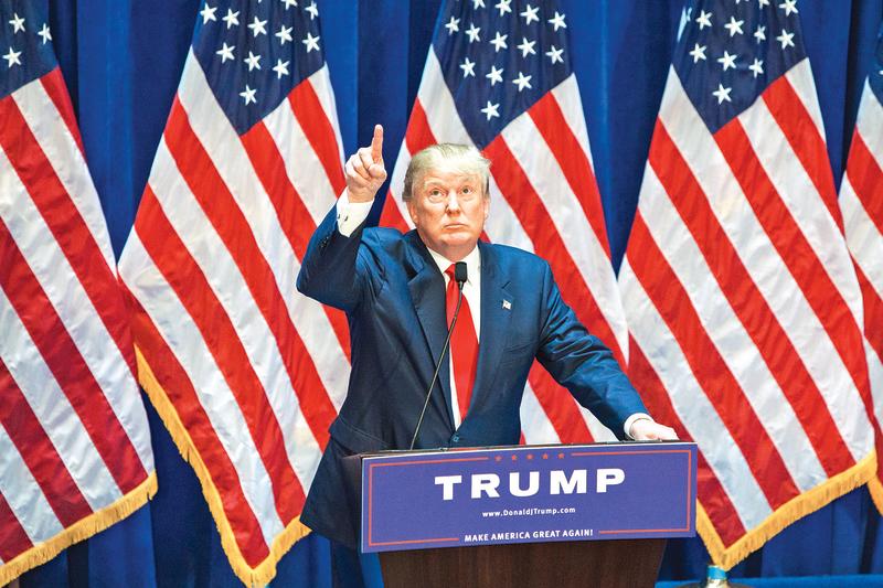 美國各界擔憂特朗普若當選總統之後的國家前景。(Getty Images)