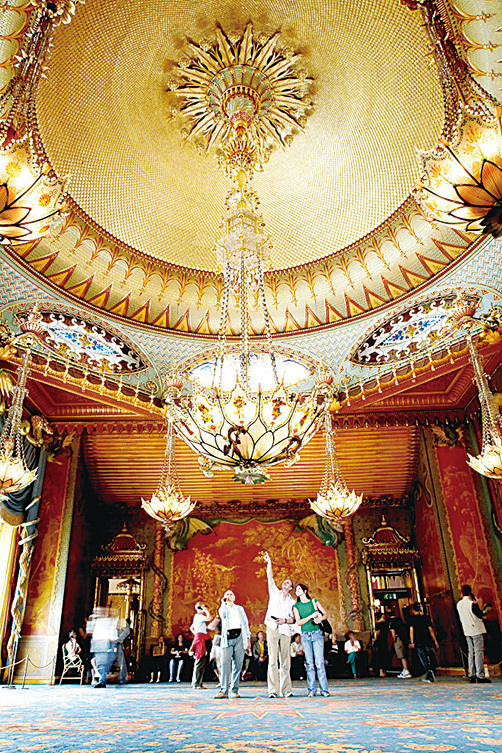 英皇閣的音樂大廳。(brighton museums)