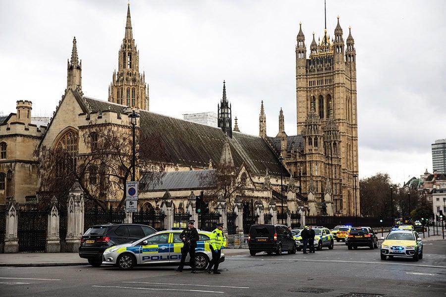英國會外襲擊 德法美等多國領袖齊痛批