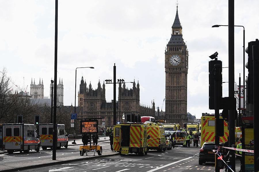 倫敦恐襲事件造成包括1名警察、3位民眾死亡,歹徒隨後遭擊斃。(Carl Court/Getty Images)