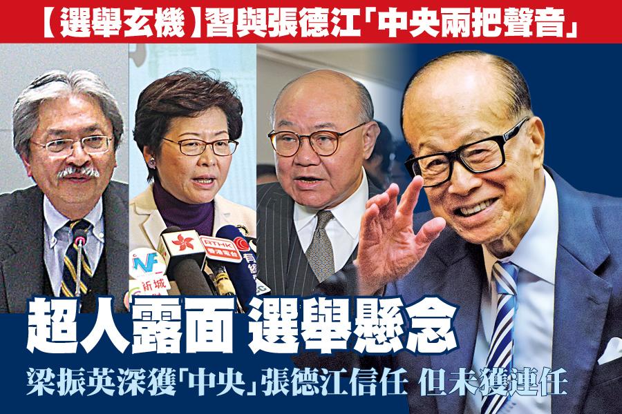 身兼選委的長和主席李嘉誠昨日在業績會上就特首選舉表態,引起外界解讀。(Getty Images)