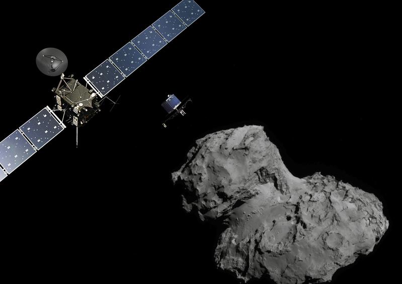 研究:彗星也會發生山崩 地質活動很活躍