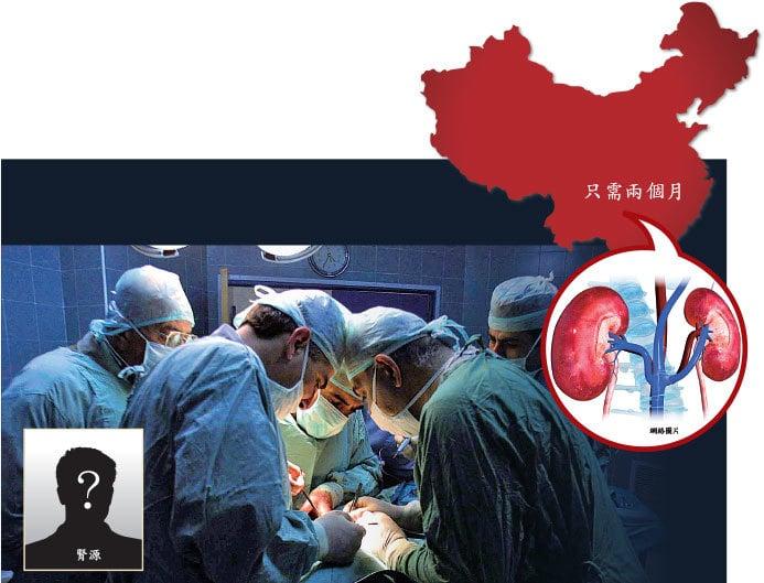 在中國換器官的等待時間超短,器官資源反常得多,這使得人們不得不思考這其中到底有什麼見不得光的真相被掩蓋了。圖為示意圖。(Getty Images)
