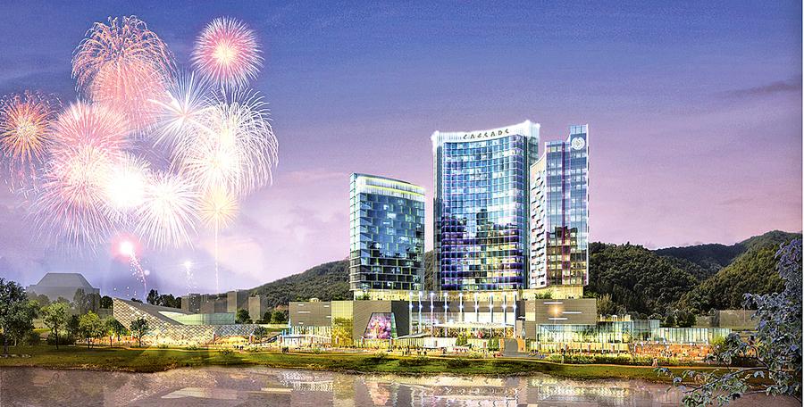 仁川美緞新城度假村  簽署土地銷售協約