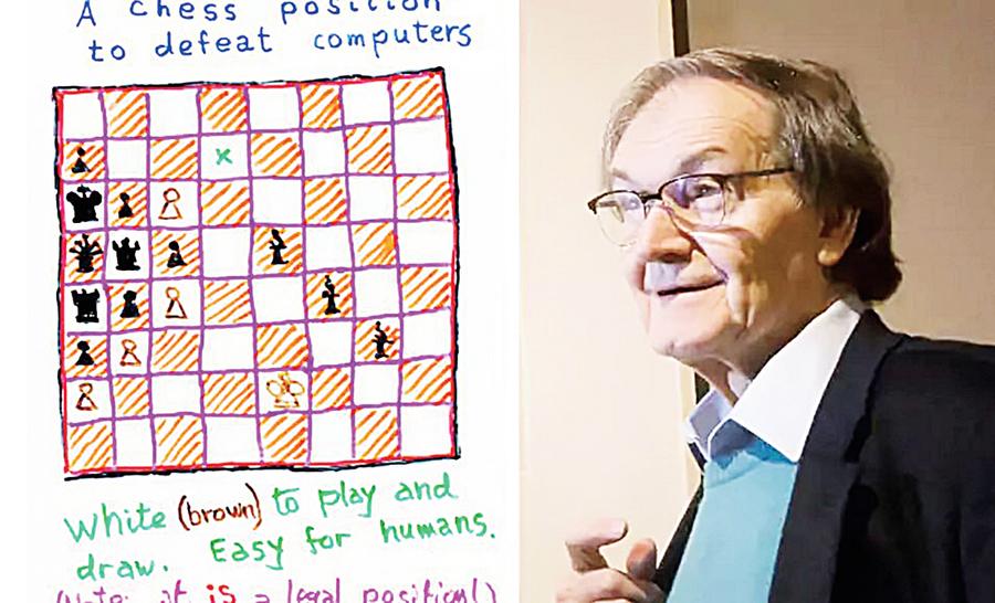 國際象棋殘局 難倒所有計算機