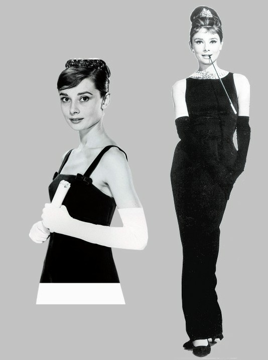 【時尚潮流】光影與時尚 1960年代最後的優雅 柯德莉夏萍的小黑裙