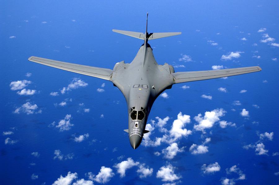 北韓試射 美B-1B轟炸機飛入東海航空識別區