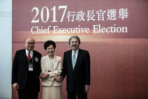 【特首選舉】林鄭月娥777票當選特首